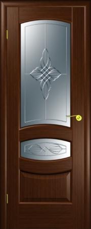 Дверь Юлия Итальянский орех (гравировка)