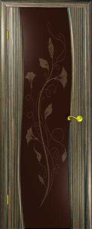 Дверь Камелия-3 Зебрано