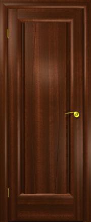 Дверь Лилия Красное дерево (дверь глухая)