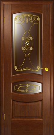 Дверь Юлия американский дуб (фацет)