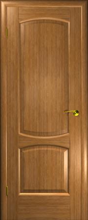 Дверь Венеция Дуб золотой (дверь глухая)
