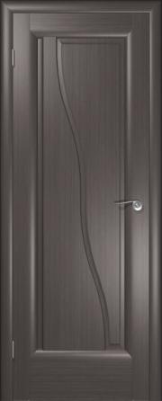 Дверь Волна Серебристый дуб (глухое полотно)