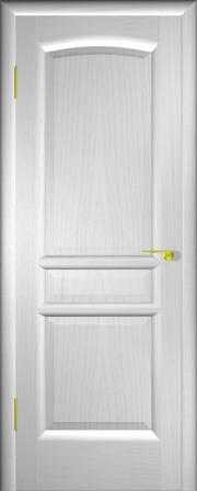 Дверь Натали Ясень белый (глухое полотно)