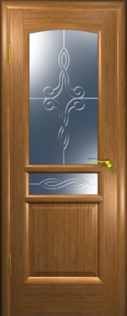 Дверь Натали Золотой дуб (гравировка)