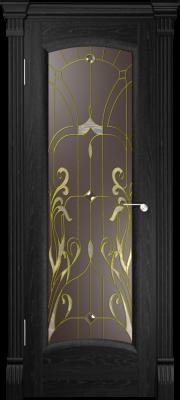 Дверь Верона Ясень черный (фацет)