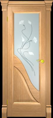Дверь Виктория Дуб светлый капитель