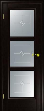 Дверь Надежда Венге (гравировка)